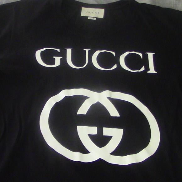 1d7d4c0d1 Gucci Shirts | Oversize Tshirt With Interlocking G Size M | Poshmark